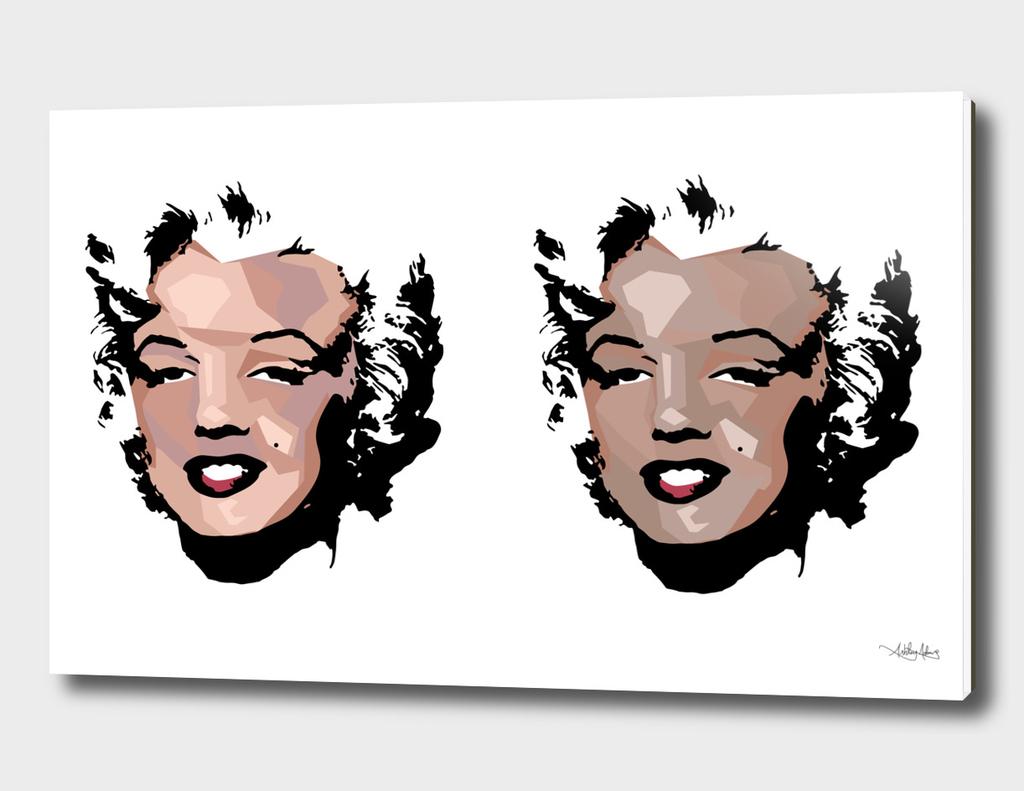 Fragmented Marilyn