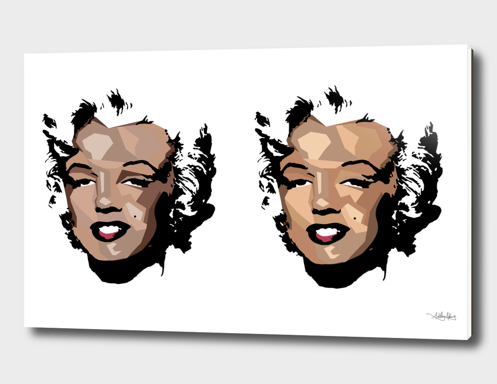 Fragmented Marilyn 2