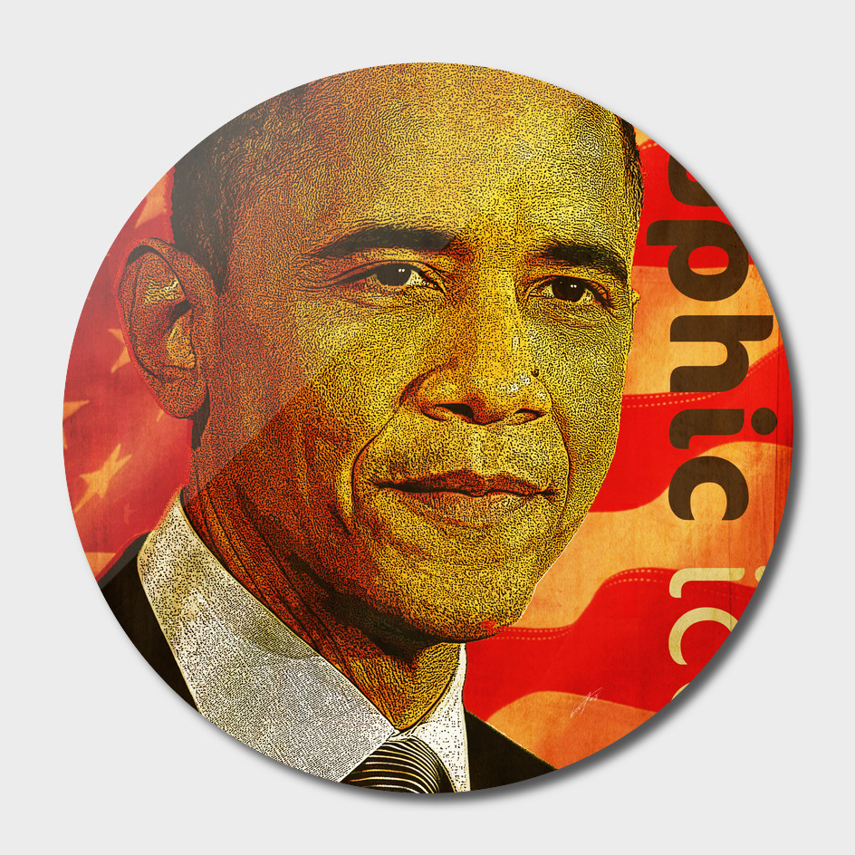 Barac Obama graphic icon02