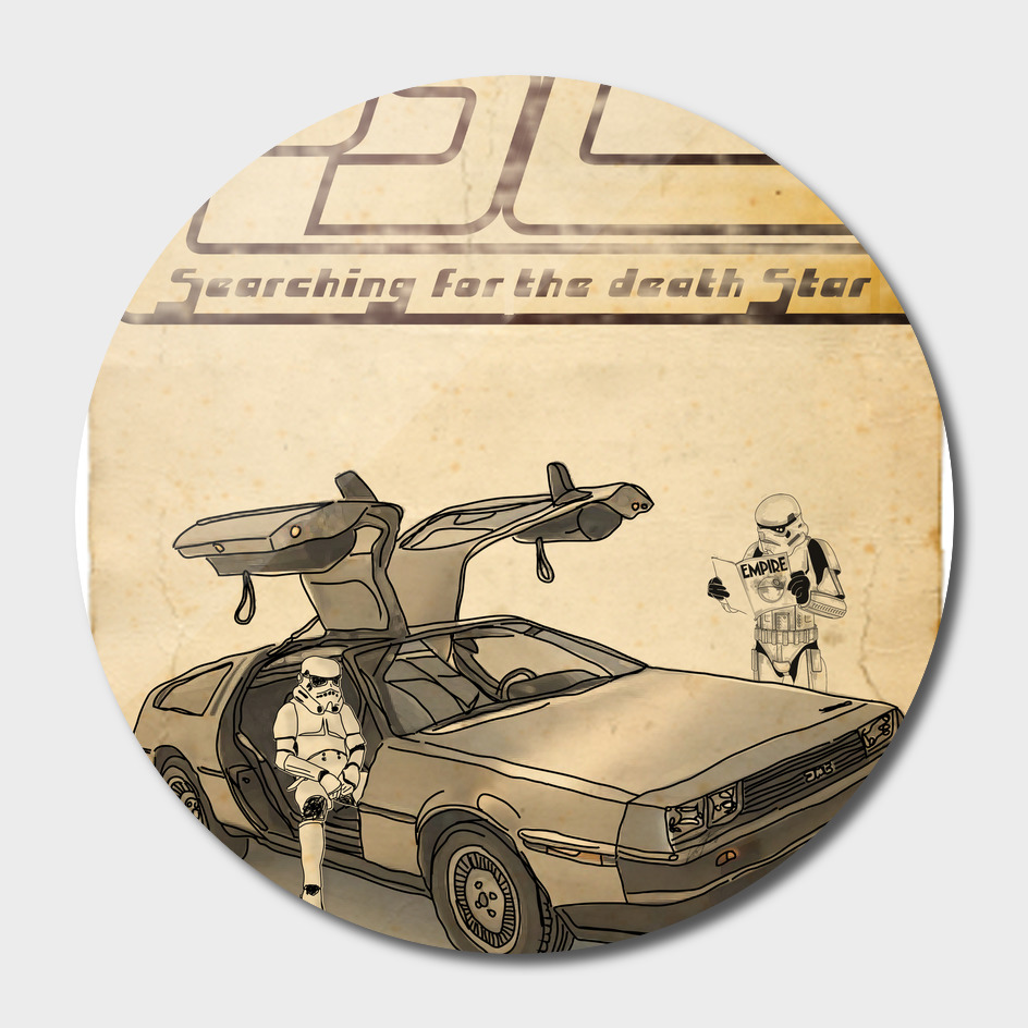 LOST - STORMTROOPER IN A DELOREAN III
