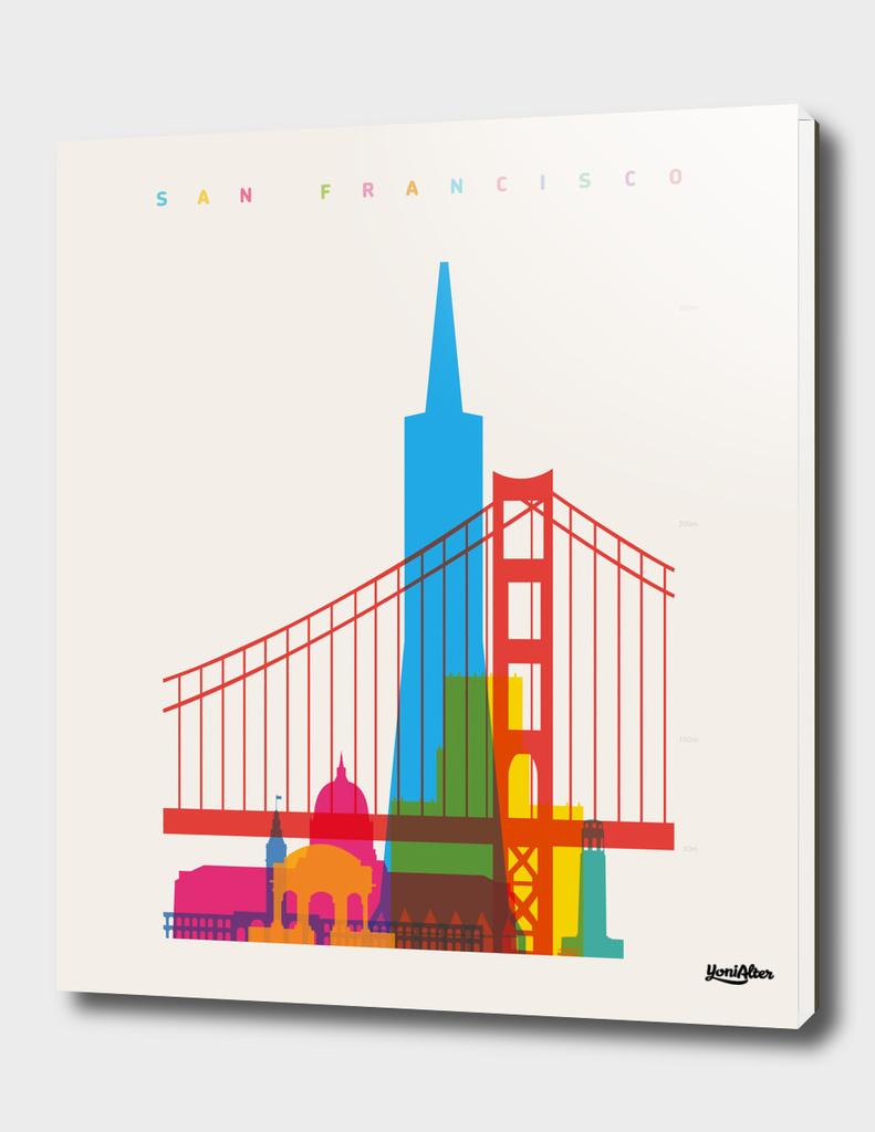 Shapes of San Francisco