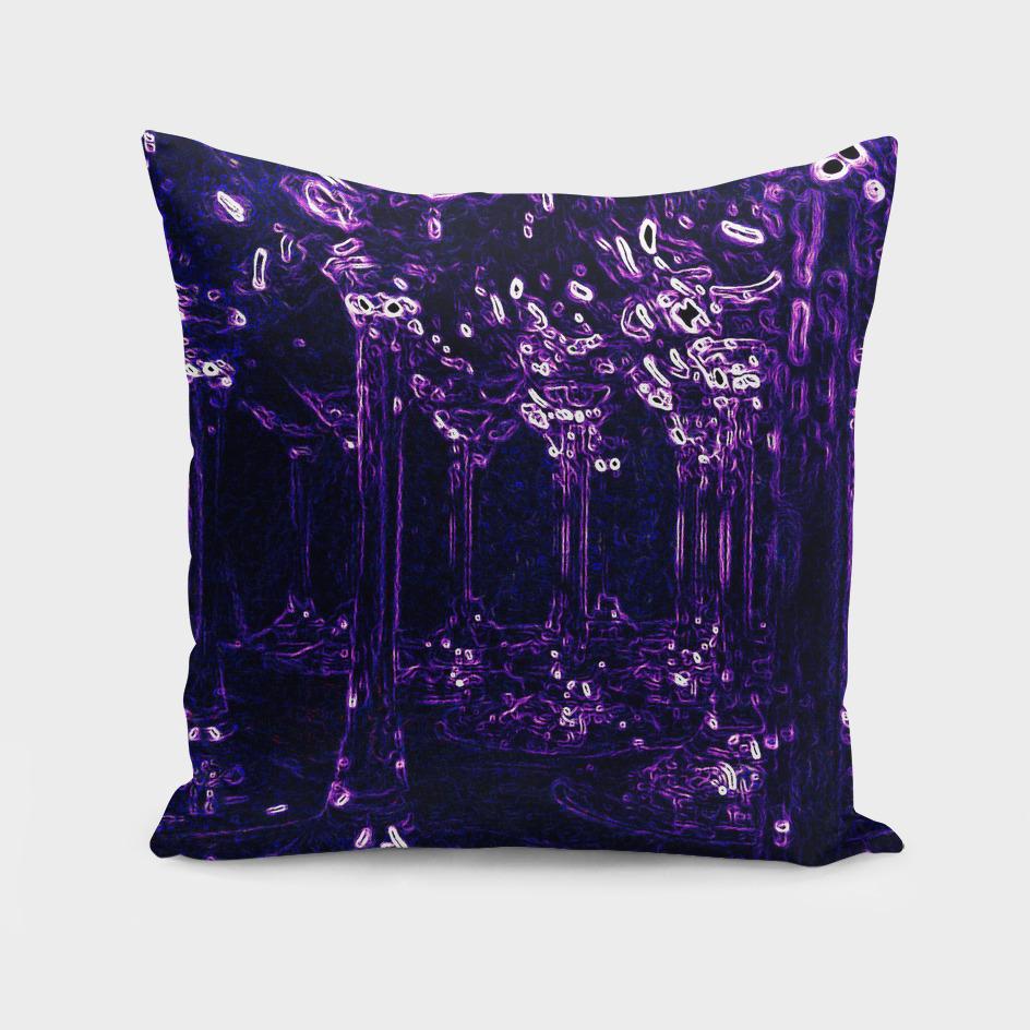 Violet wine