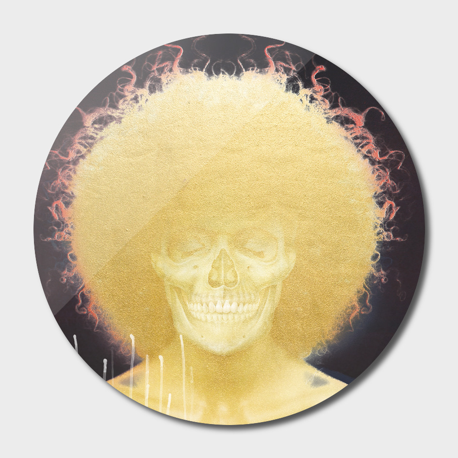 gold afro