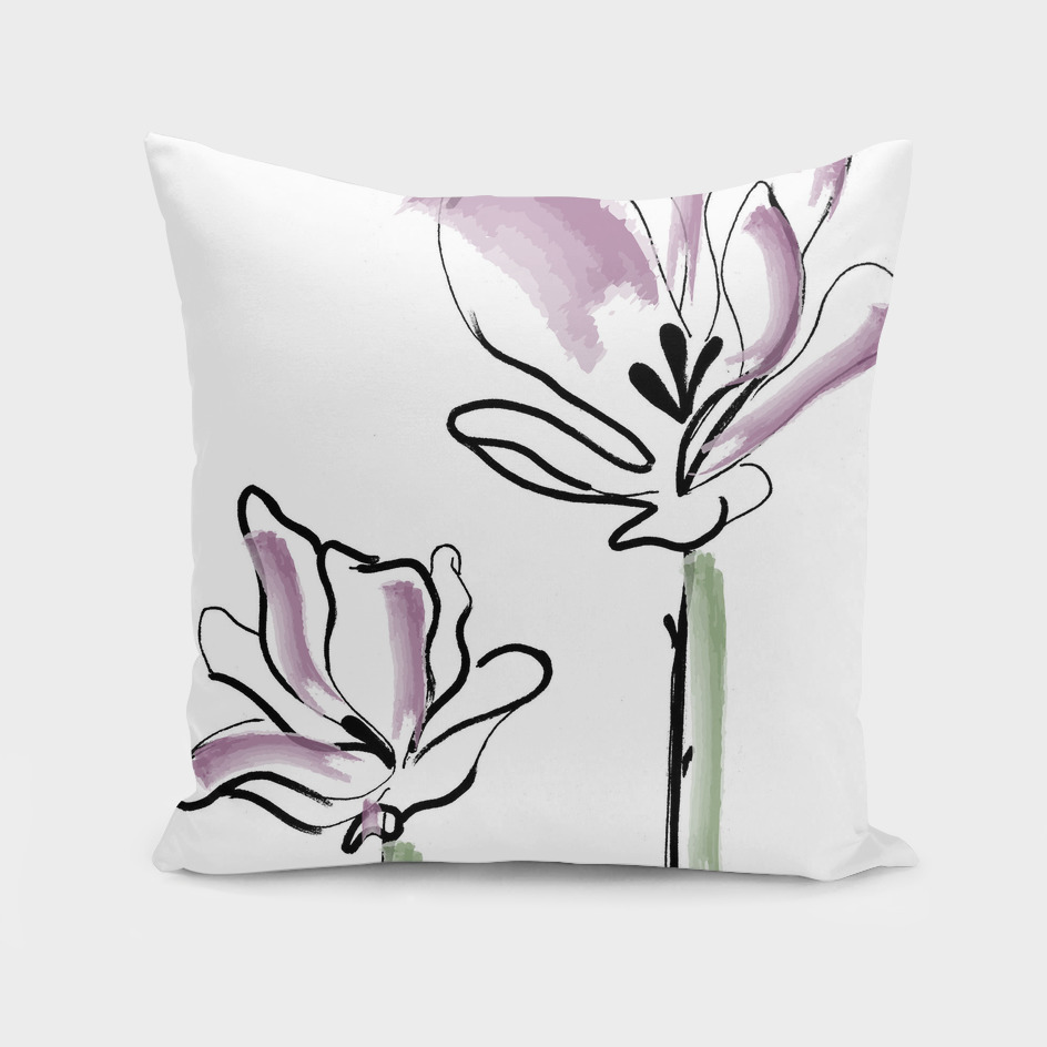 Flower Lineart