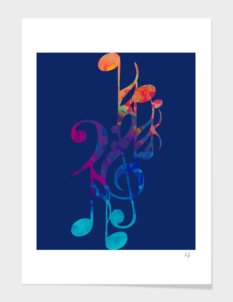 I love musical notes #6