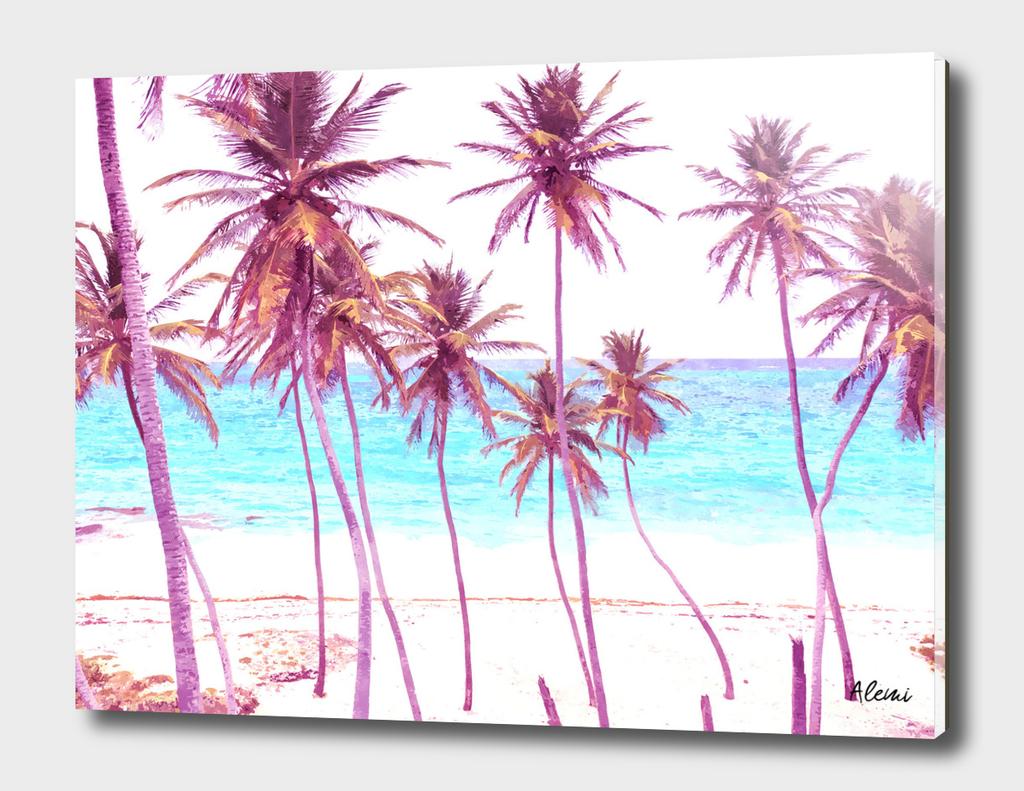 Palm Beach Illustration