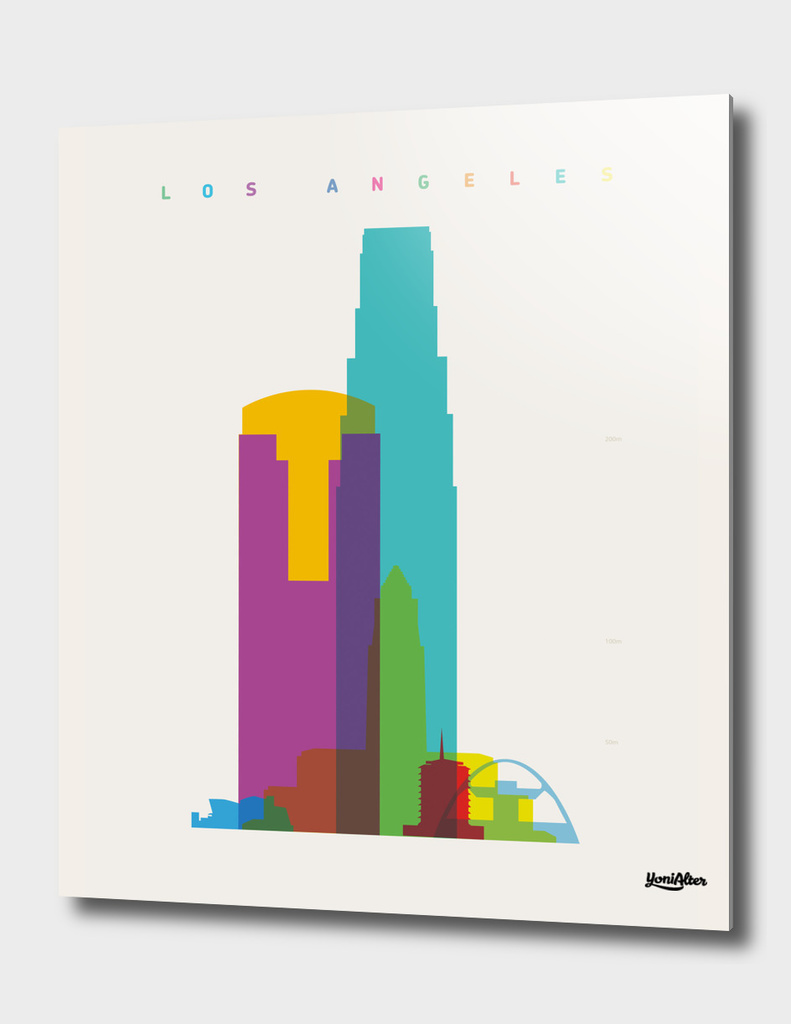 Shapes of Los Angeles
