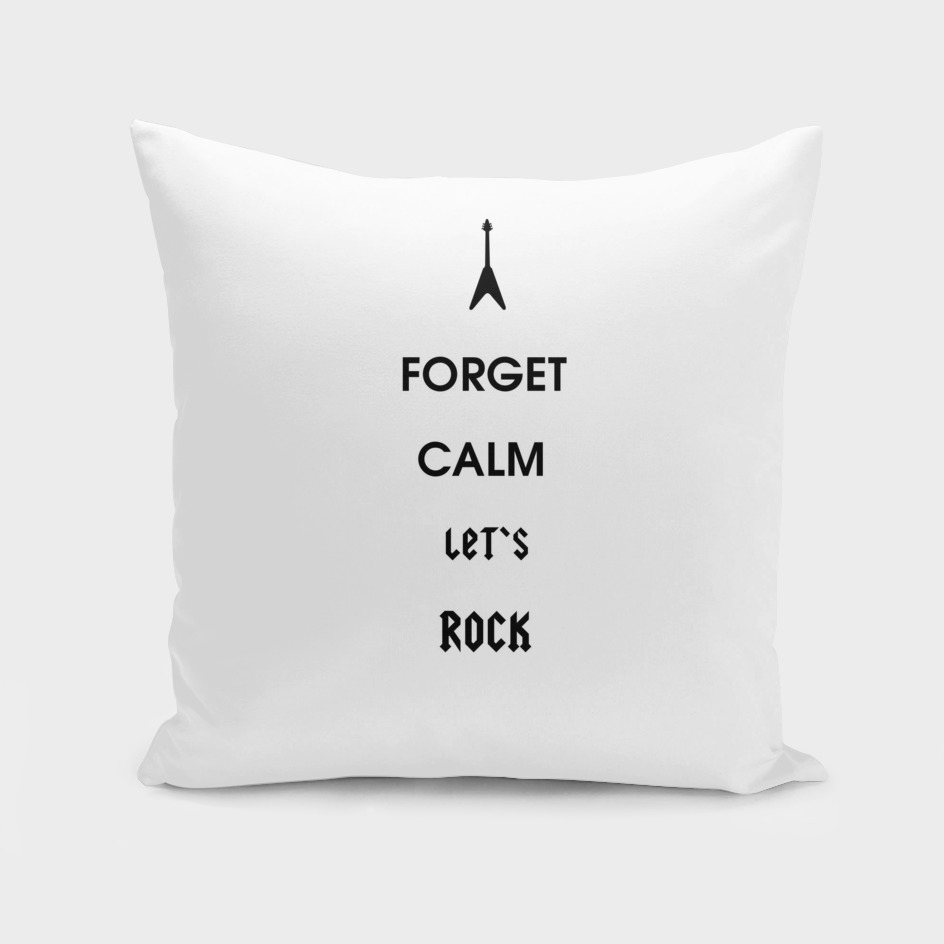 Forget Calm-Let's Rock
