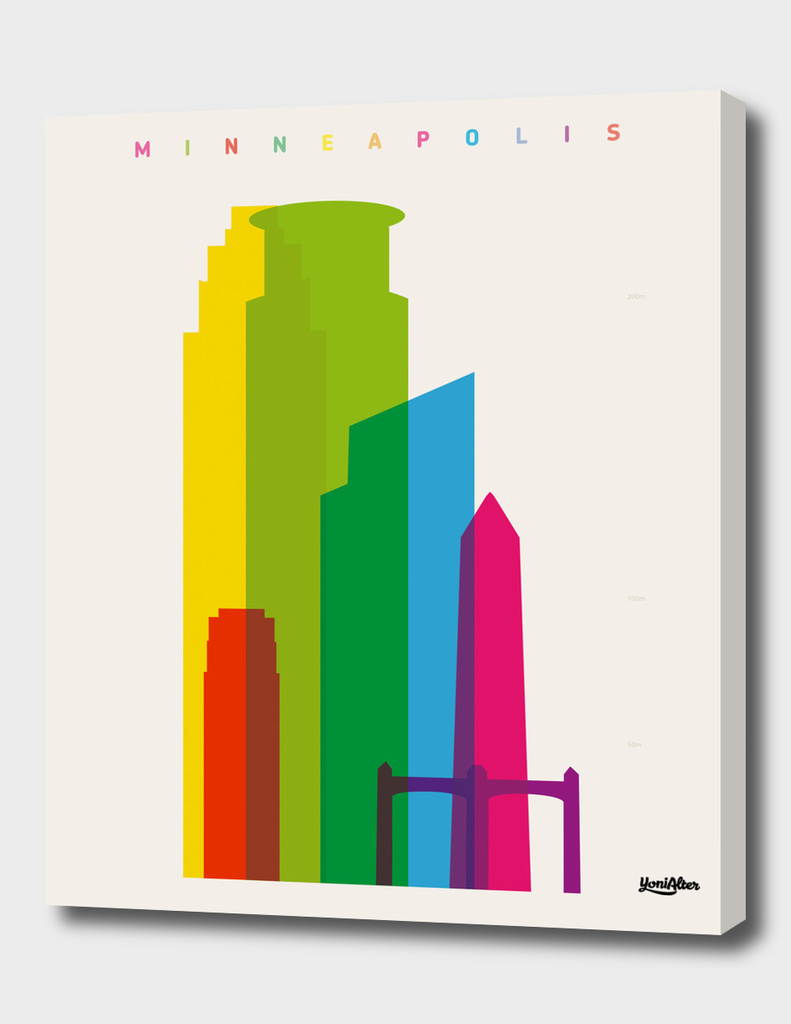 Shapes of Minneapolis