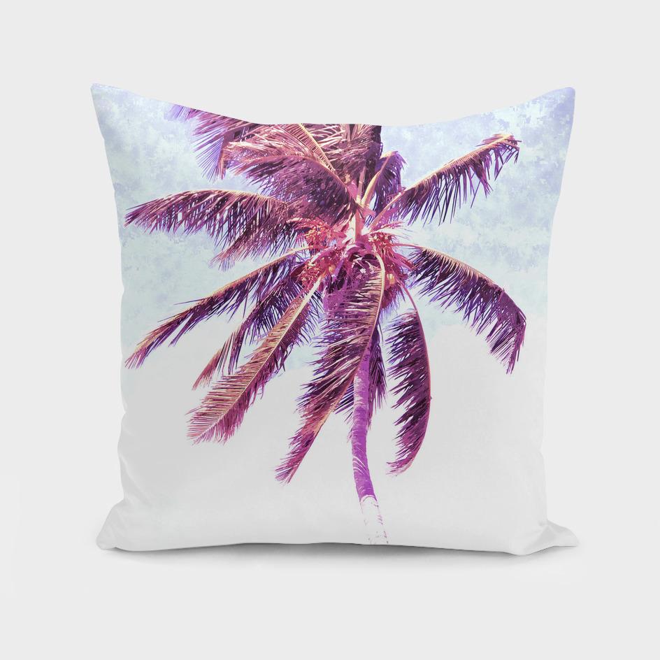 Palm Tree Violet Illustration