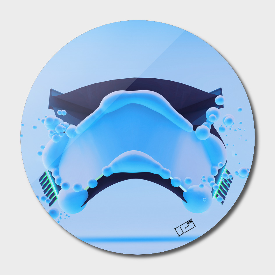 Stormtrooper Mask Bubble