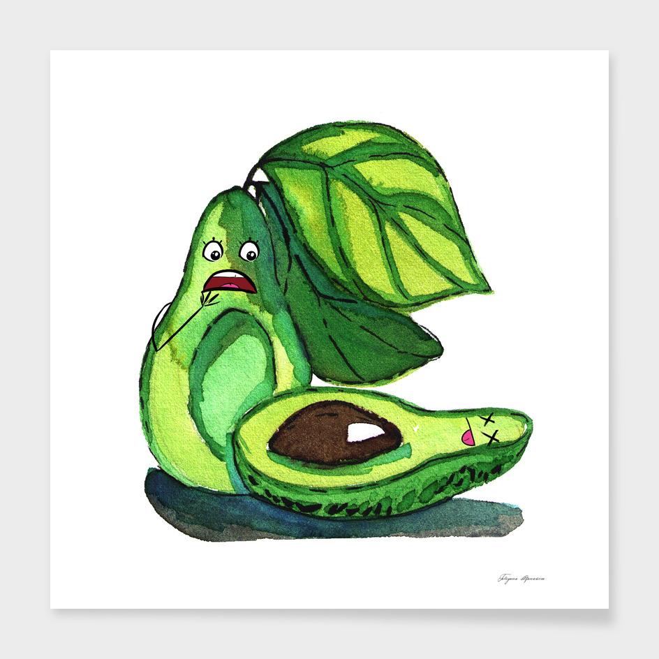 Poor avocado