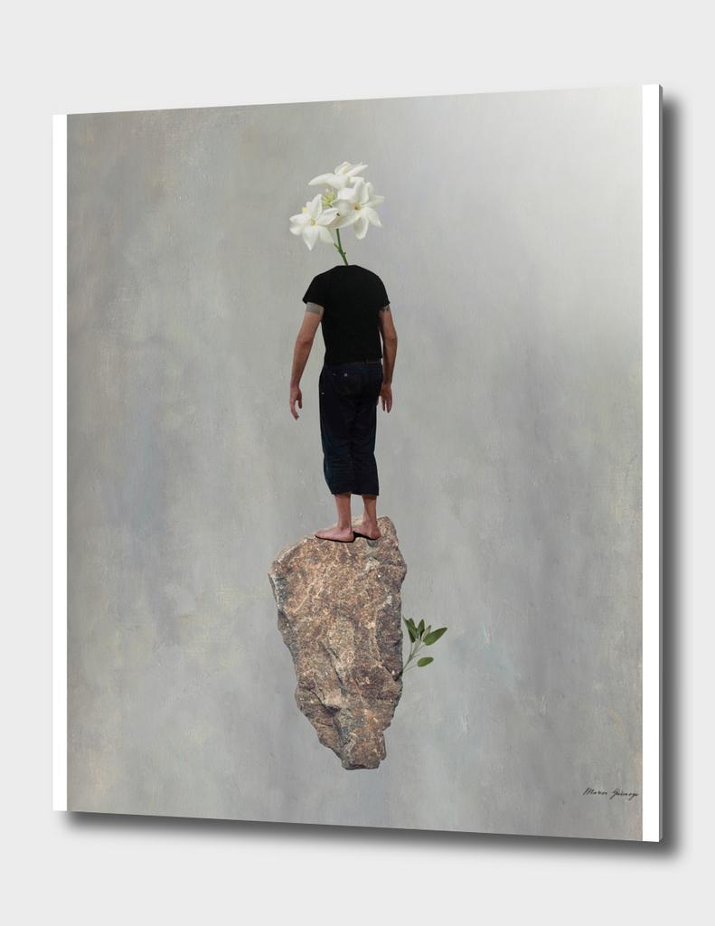 flying stone