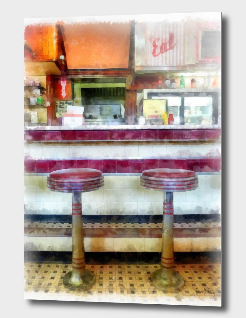 Classic American Diner Interior