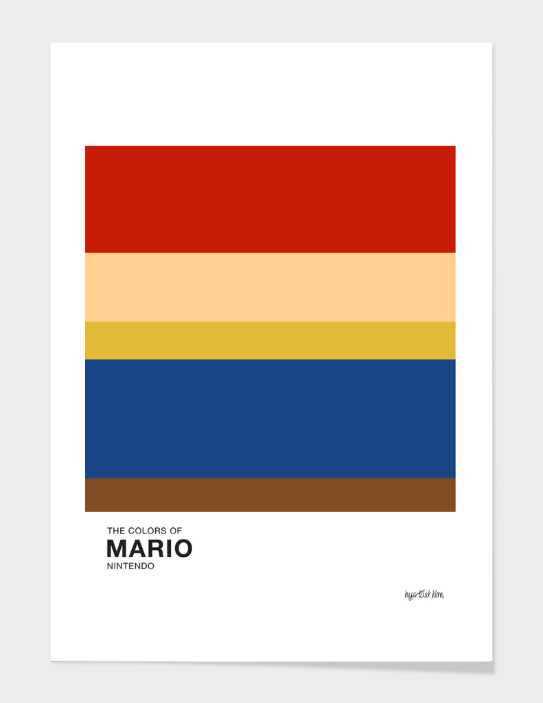 The Colors of Mario