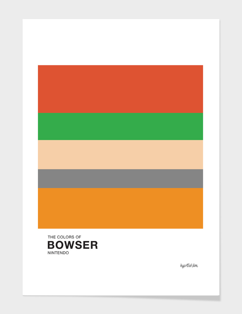 The Colors of Bowser