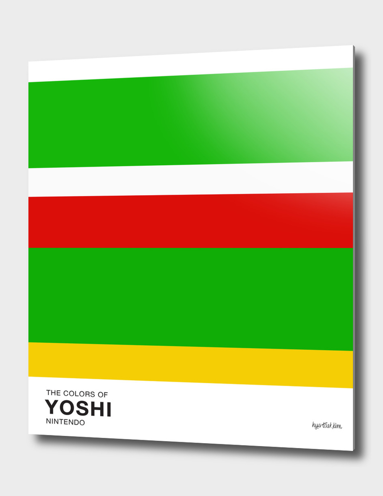 The Colors of Yoshi