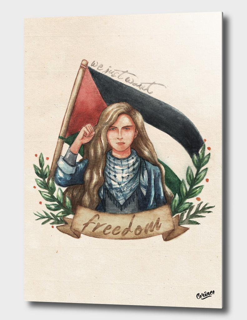 ahed tamimi - palestine feminist