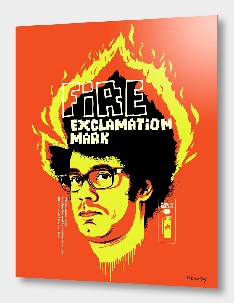 Fire Exclamation Mark