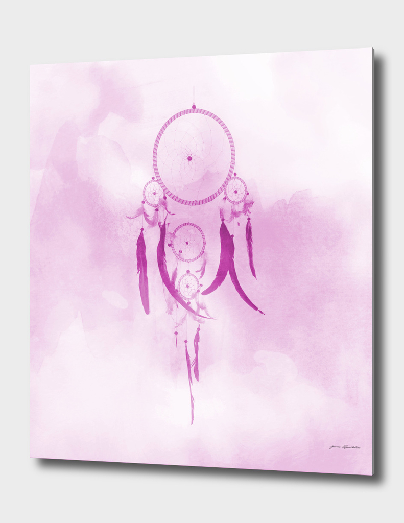 Dreamcatcher In Pink