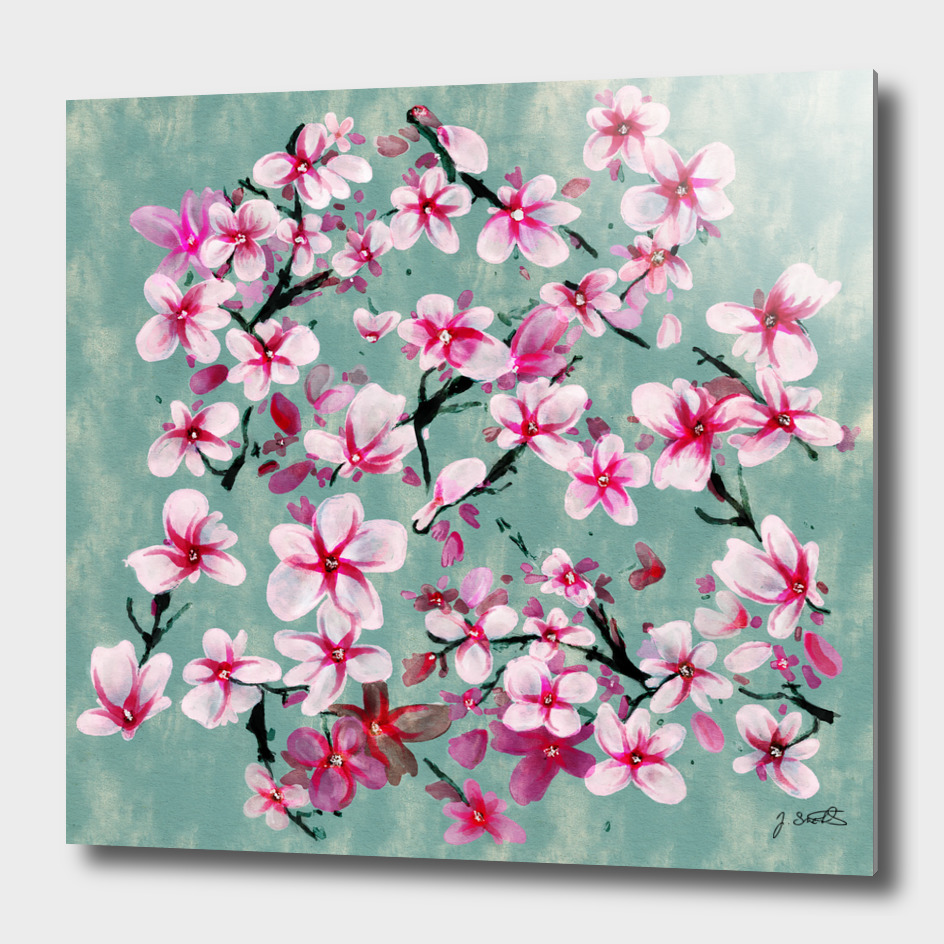 Watercolor Blossoms