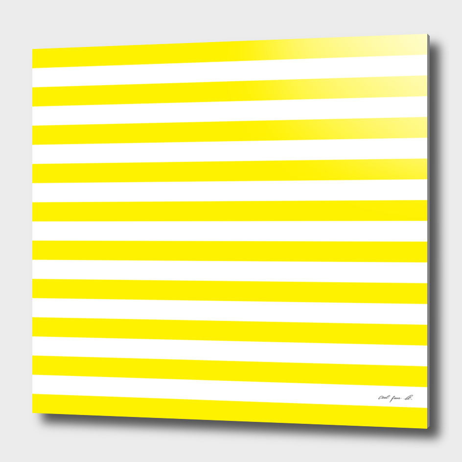 Horizontal Yellow Stripes