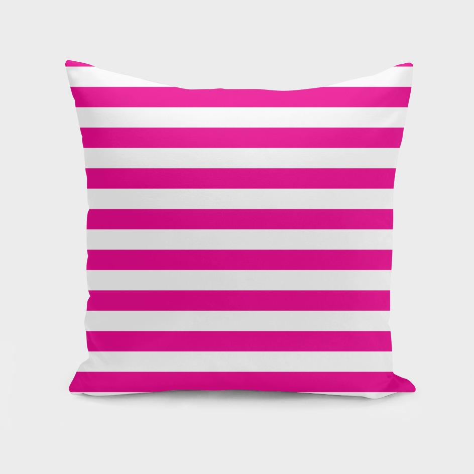 Horizontal Pink Stripes