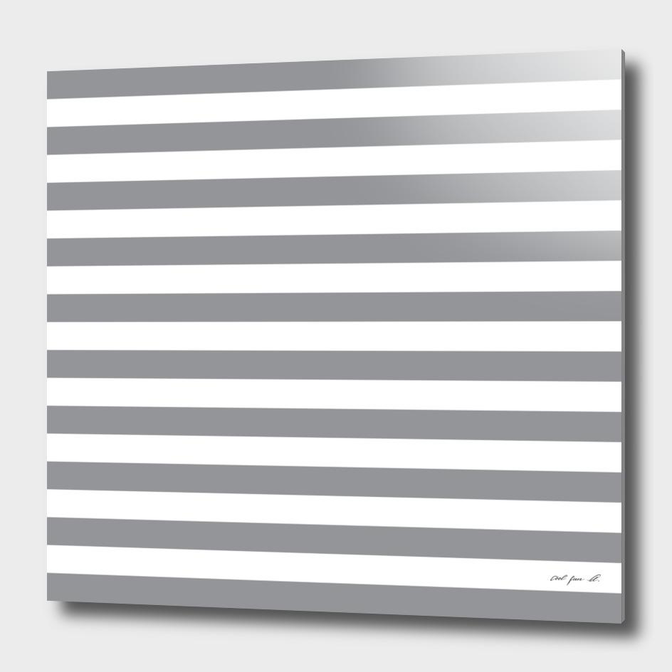 Horizontal Grey Stripes