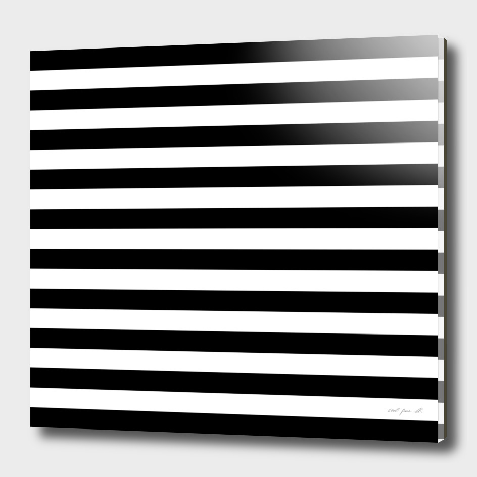 Horizontal Black Stripes