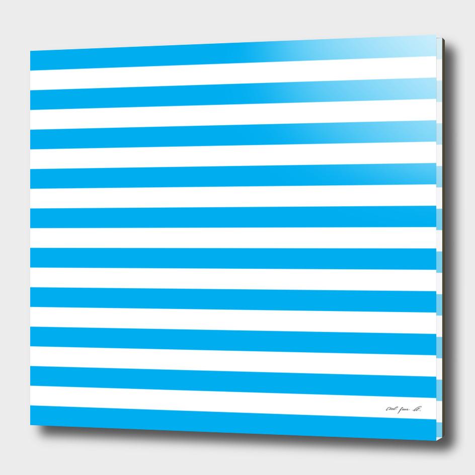 Horizontal Blue Stripes