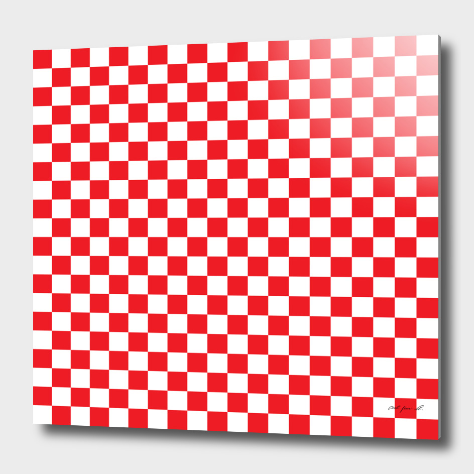 Red Checkerboard