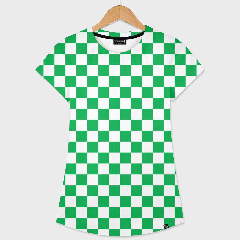 Green Checkerboard