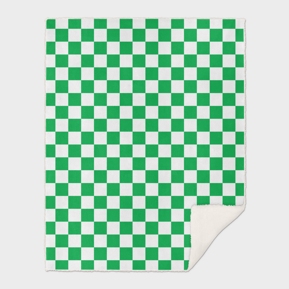 Green Checkerboard