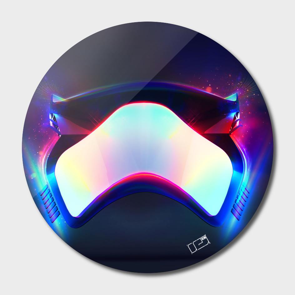 Stormtrooper Mask Black
