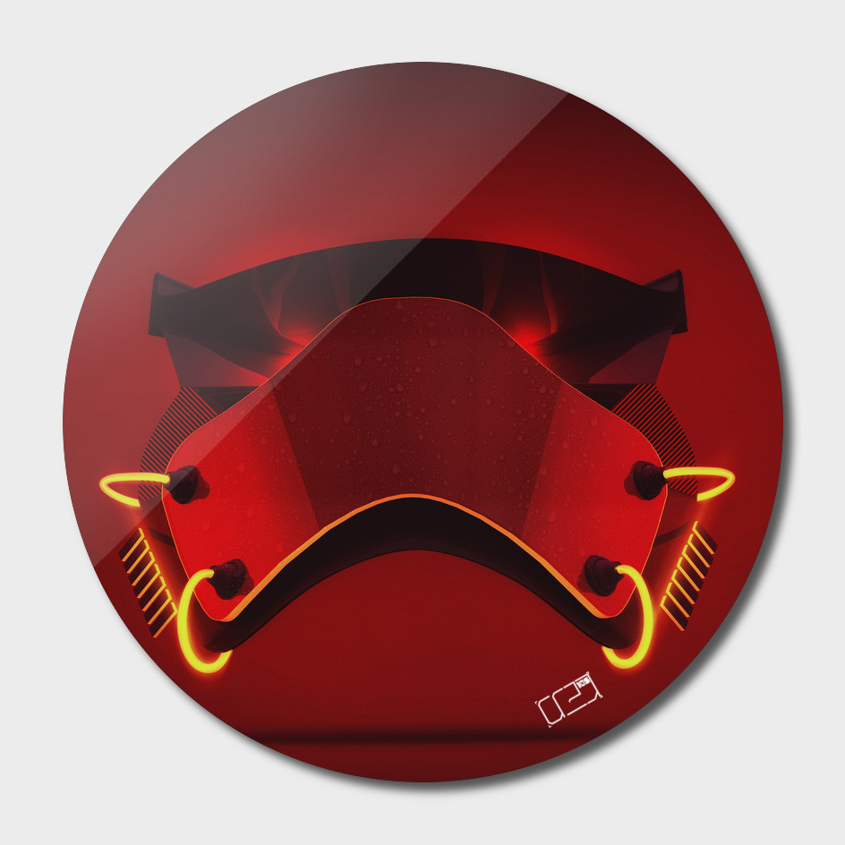 Stormtrooper Mask Red