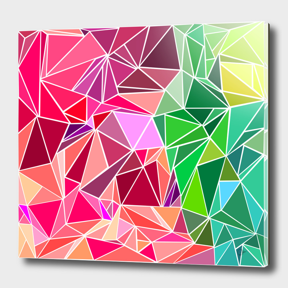 Geometrical hued