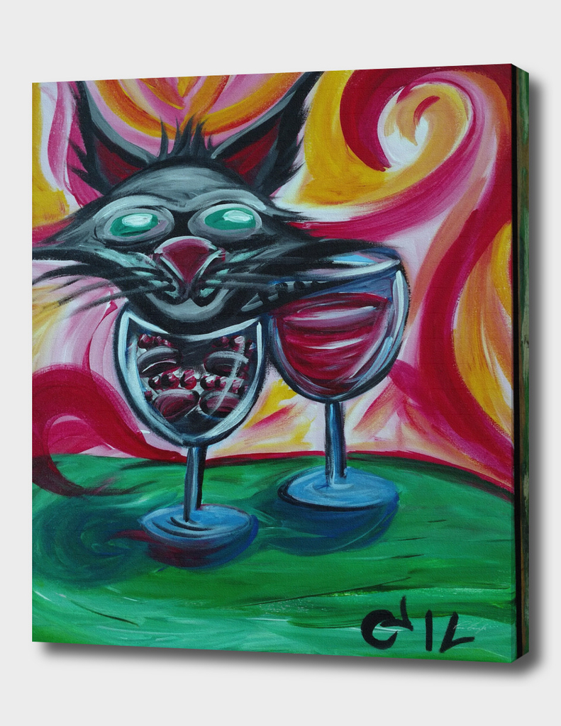 Purr Me A Glass