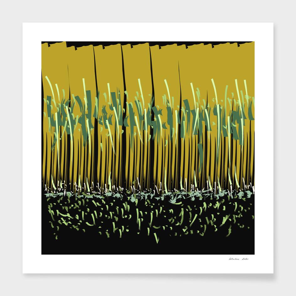 Grass Rhythm by Night