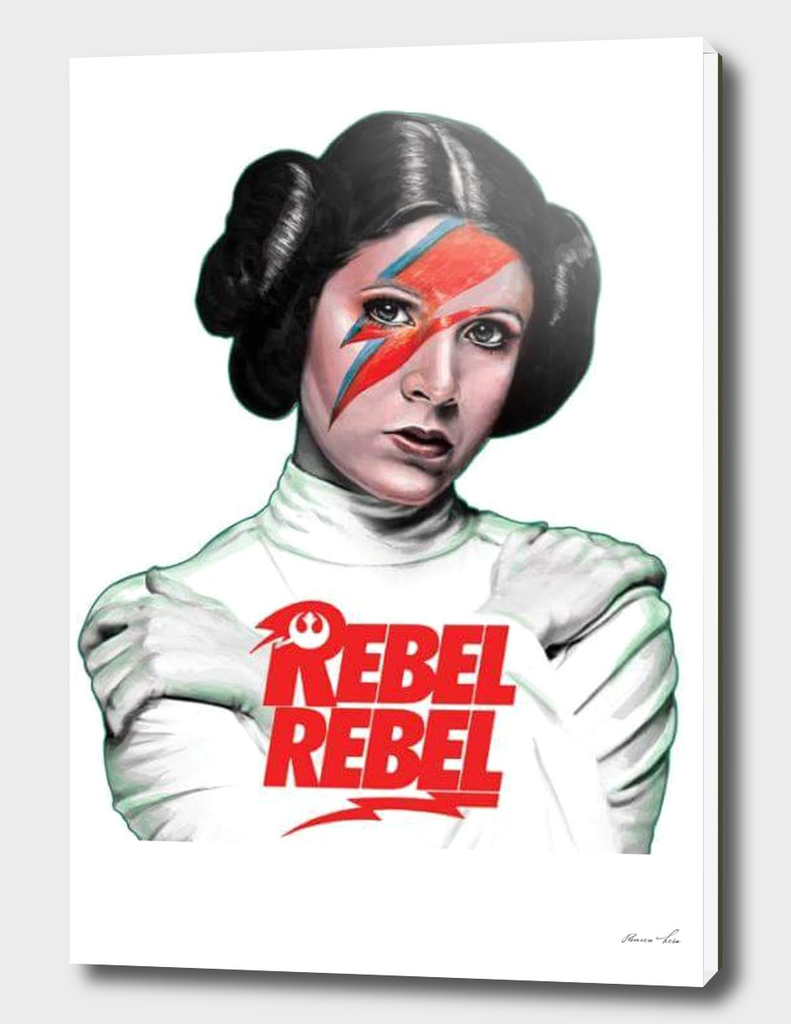LEIA REBEL REBEL