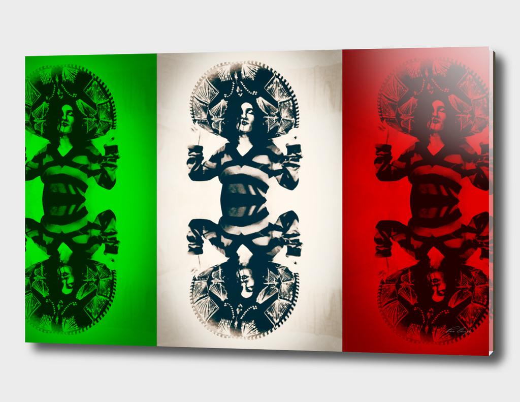Mexican Charra - Mex Mirror