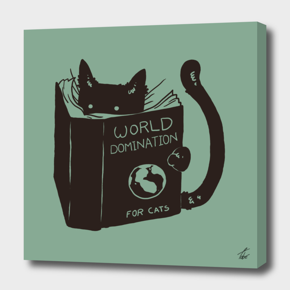 World Domination for Cats (green)