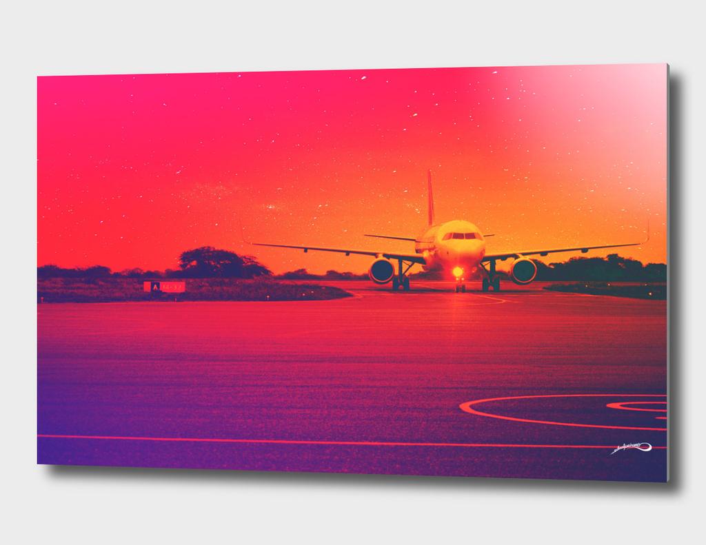 Plane mode mood by #Bizzartino