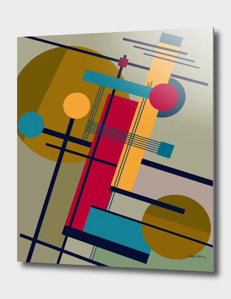 Abstract Composition 476