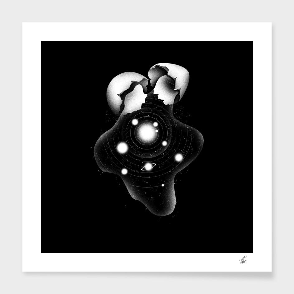 Cosmic Egg Shell