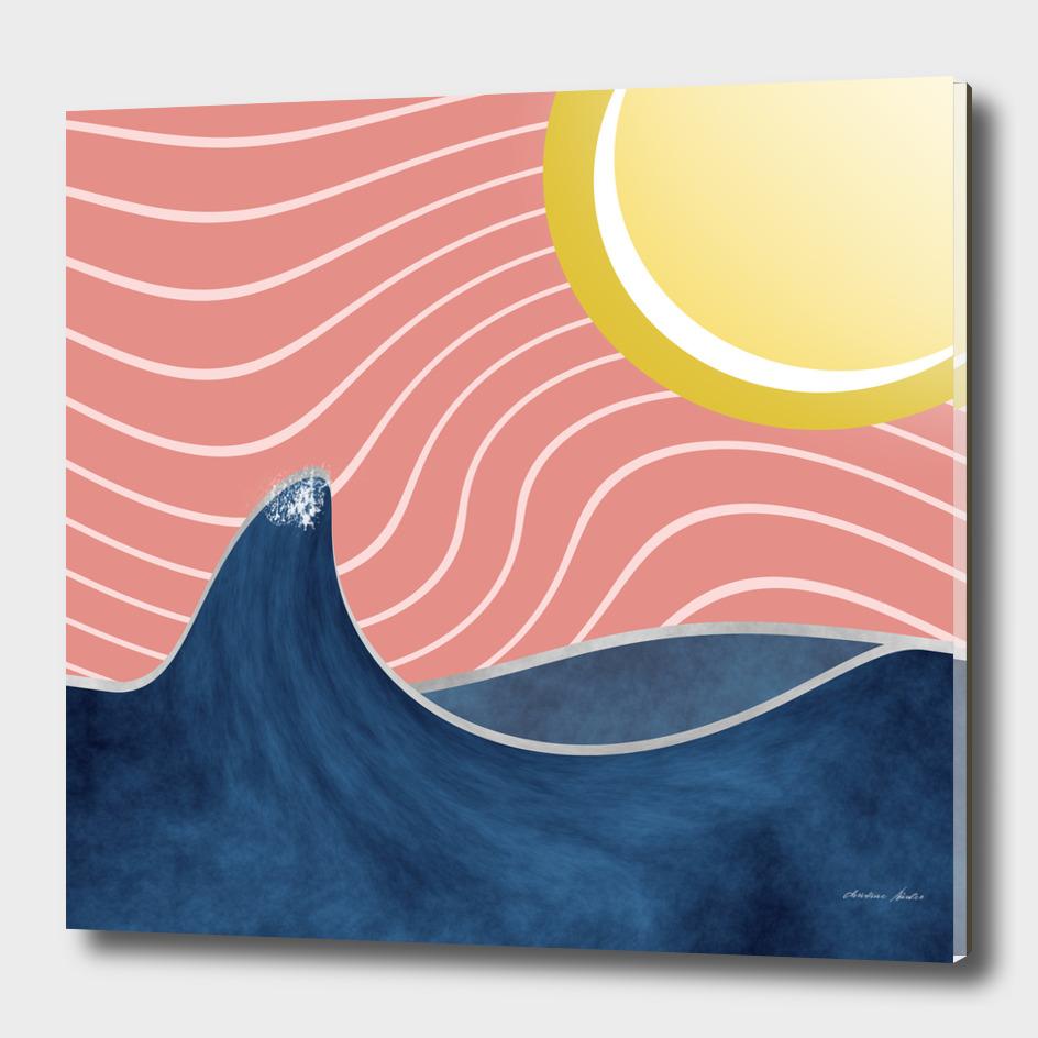Sun, beach and sea