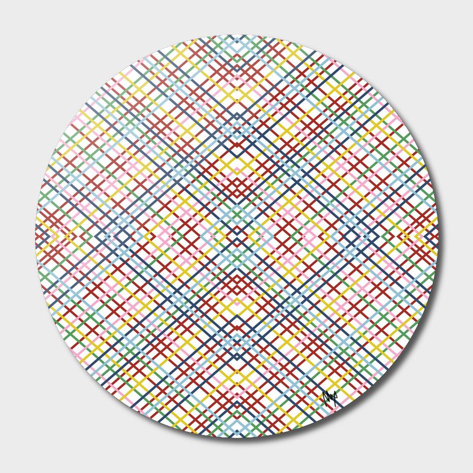 Weave 45 Mirror