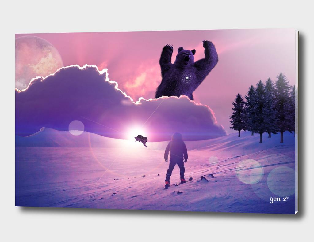 Snowball against Bear by GEN Z