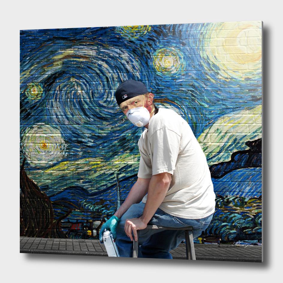 Van Gogh in Street Art