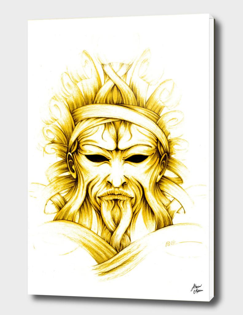 old yellow silkman