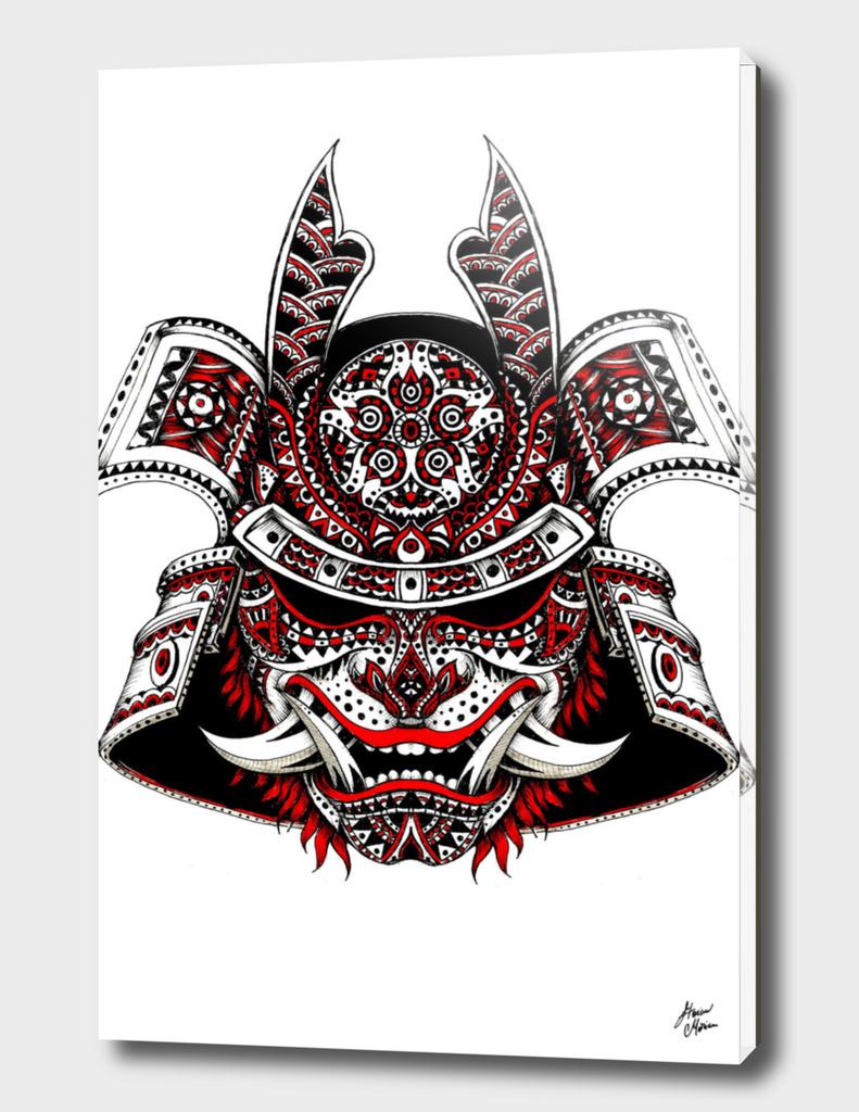 polinesian samurai mask